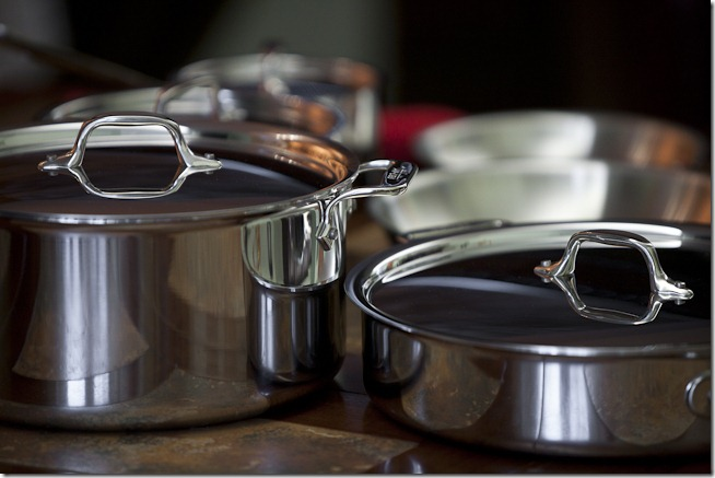 All-Clad Stainles Steel Pots and Pans-5