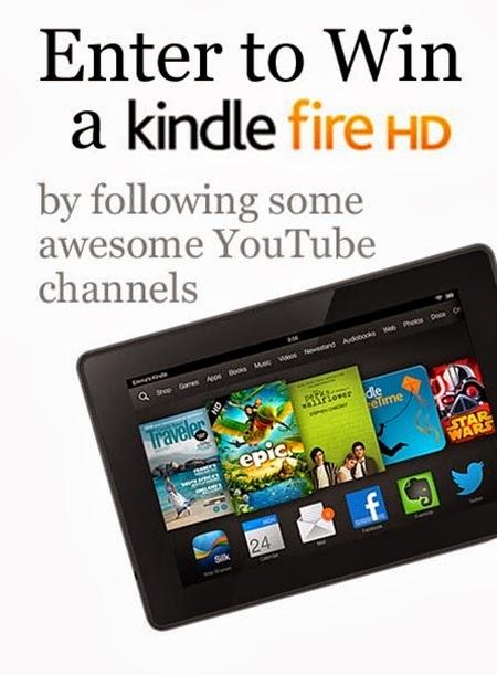 YouTube Kindle Fire Giveaway