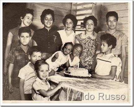 Aldo Russo cumpleaños donde Anacaona
