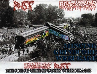 Rot_&_Agathocles_Mincing_Grindcore_Wreckage_(Split_Tape)_cover_01 - Cópia
