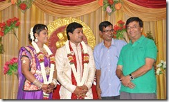 YG Mahendran @ Major Dasan Daughter Wedding Reception Photos