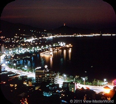 View-Master Acapulco (B003), Scene 21: Acapulco at Night