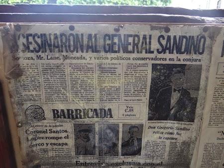 23. Ziar - asasinarea lui Sandino.JPG