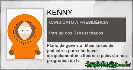 CANDIDATO: KENNY
