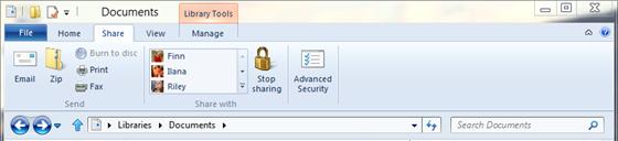 Windows 8 Featured new Ribbon UI