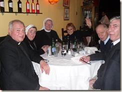 Josecitos Geburtstag, Abendessen mit Ruben Frassia und Mutter H 010