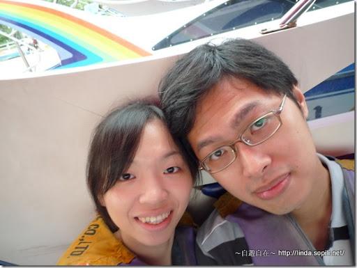 泰國芭達雅-搭乘快艇
