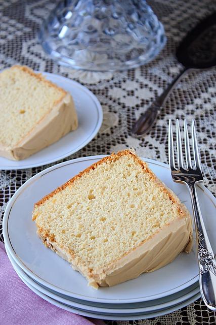 Chiffon Cake Slice