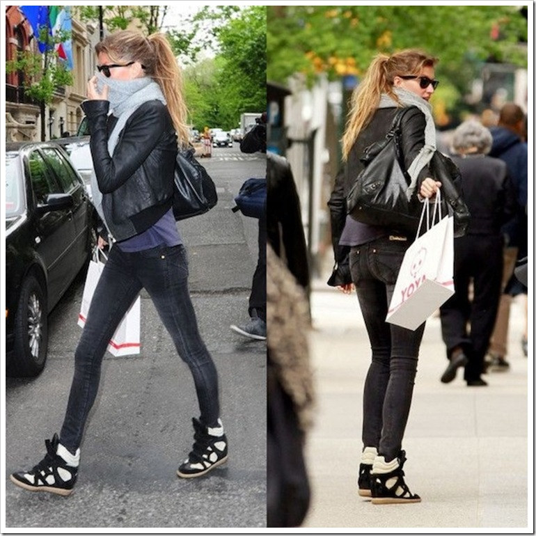 Gisele-Bundchen-Isabel-Marant-wedge-sneakers-7