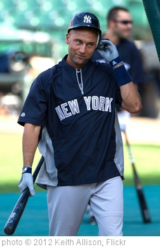 'Derek Jeter' photo (c) 2012, Keith Allison - license: http://creativecommons.org/licenses/by-sa/2.0/