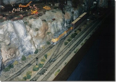09 LK&R Layout at GATS in Portland, Oregon in October 1998