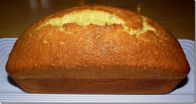 TWD--BWJ Lemon Loaf Cake 4-7-12