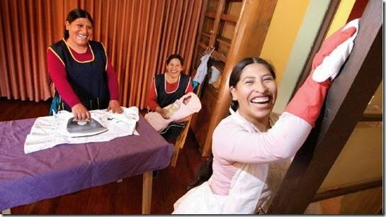 Servicios domésticos en Bolivia