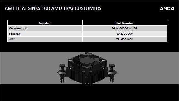 Disipadores AMD AM1