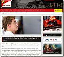 Il comunicato della Ferrari