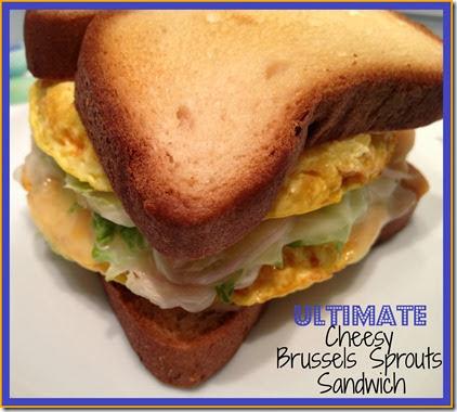 ultimate cheesy brussels sandwich