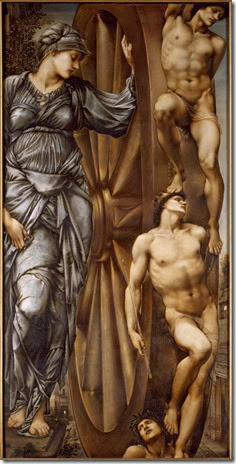 Sir Edward Burne-Jones - La Roue de la Fortune