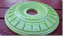 green metallic medallion 6