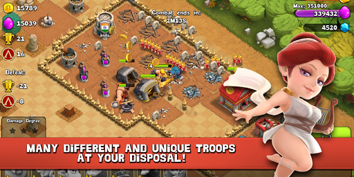 Clash of Spartan - screenshot