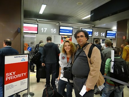 Sky Priority - Bucharest airport