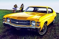1971-Chevrolet Chevelle Malibu Sport Coupe