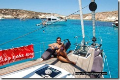Tintarella alla Tabaccara - Lampedusa