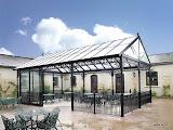 System kolumnad aluminiowych w stylu gotyckim wg projektów XIX-wiecznych.  - Przykład zastosowania. Dla całego systemu oferujemy projekt, konstrukcję oraz montaż.