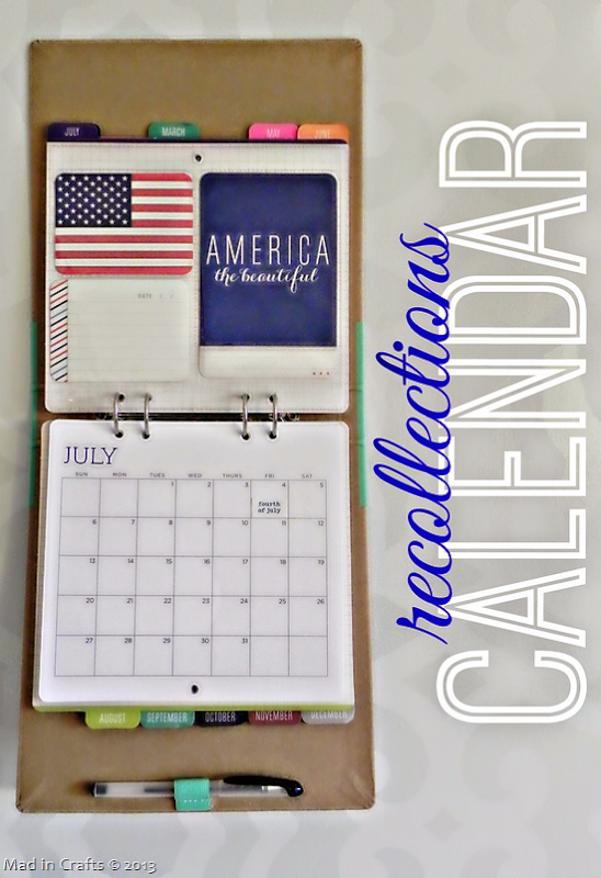 Recollections Calendar Gift