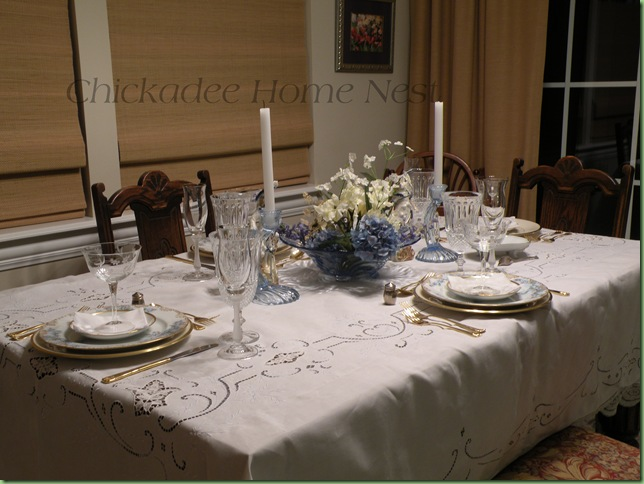 Little Boy Blue Spring Tablescape45