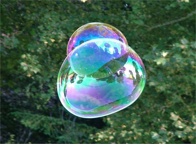 800px-Soap_Bubble_-_foliage_background_-_iridescent_colours_-_Traquair_040801