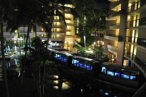 飯店內的單軌電車