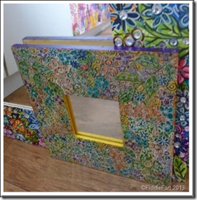 Altered Handpainted Mirror 6