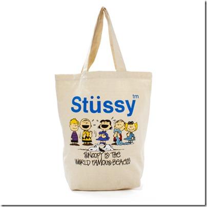 Stussy × Kids Peanuts # 1 Family Tote ¥ 2,940