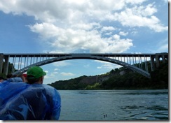 Rainbow Bridge to Canada from Maid of the Mist