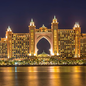 The Atlantis by Andy Arciga (www.arcigaandy.com) - Buildings & Architecture Office Buildings & Hotels ( dubai, nikon d600, atlantis, hotels, , city, night )