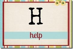 H - help