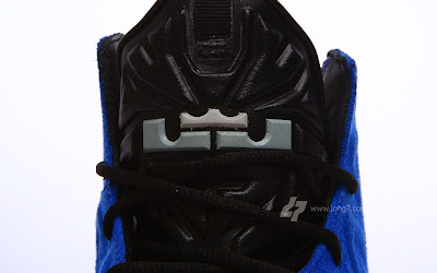 nike lebron 11 nsw sportswear ext blue suede 2 09 Nike LeBron XI (11) EXT Blue Suede Detailed Pictures