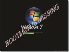 """cara Mengatasi """"Bootmgr is Missing"""" Win 7"""