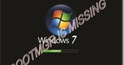 cara mengatasi bootmgr is missing win 7