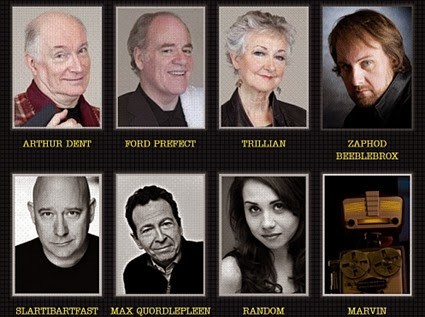 The cast of characters 2013