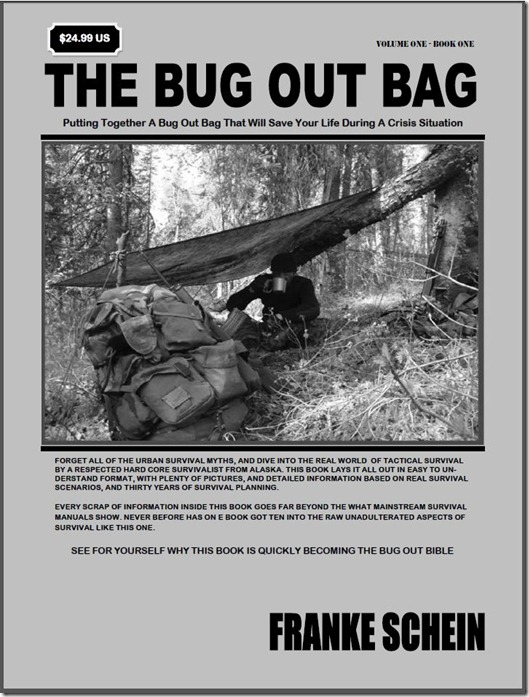 The Bug Out Bag Book By Franke Schein