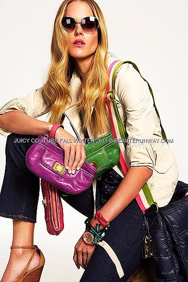 JUICY COUTURE Fall Winter 2011 bags and sunglass