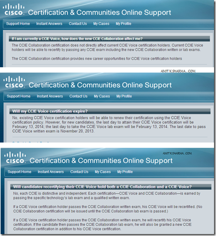 CCIE VOICE RECERTIFICATION