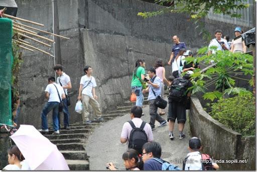 猴硐(侯硐)-拍貓的觀光客