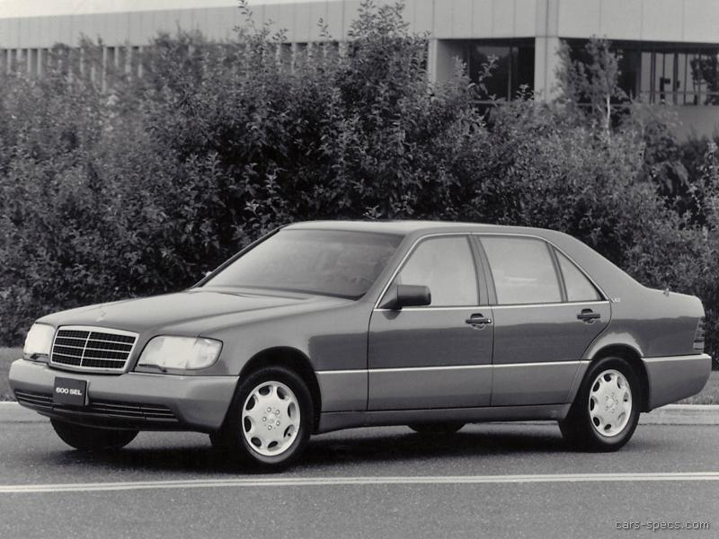 1994 mercedes benz s class sedan specifications pictures for 1994 mercedes benz s class