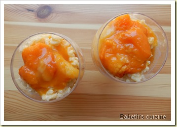 risotto abricots