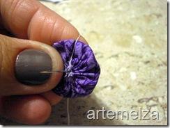Faça Lindas Violetas Com Fuxico! - Artesanato Passo a Passo
