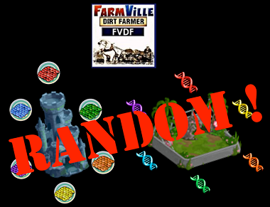 Farmville Dragon Scales & Dino DNA are Random