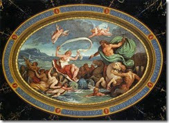GIANI Felice, The Marriage of Poseidon and Amphitrite