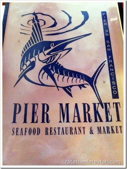 Pier Market Menu